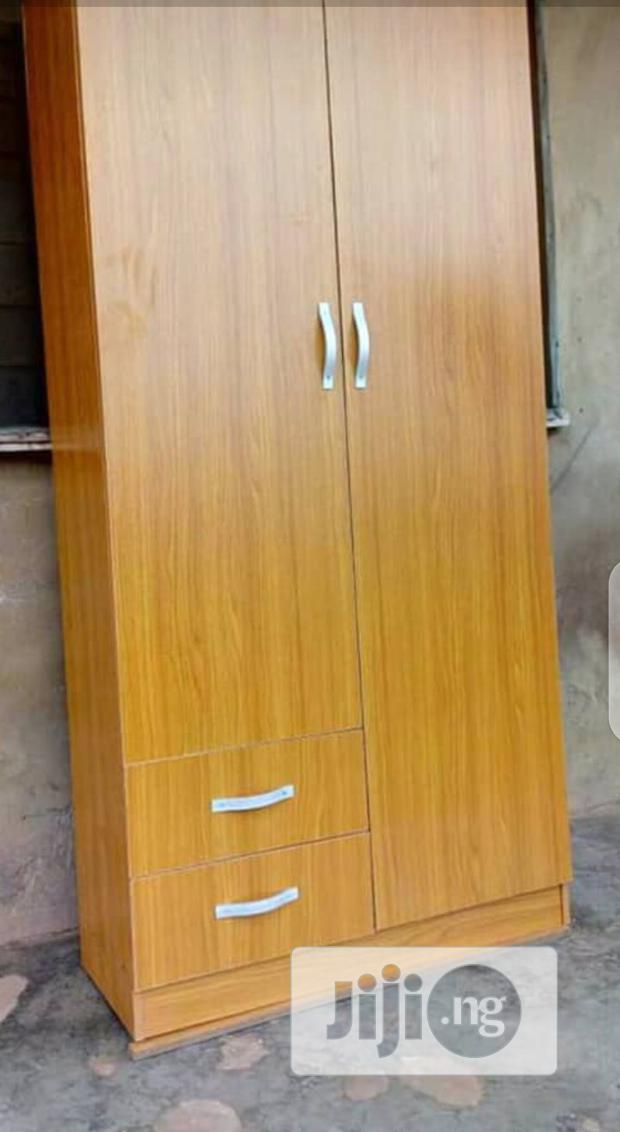 Two Door Wardrobe With Two Drawer's