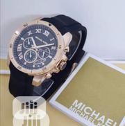 Michael Kors Chronograph Rose Gold Strap Watch | Watches for sale in Lagos State, Lagos Island