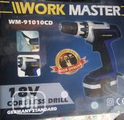 18V Work Master Cordless Drill Germany Standard Wm-91010cd | Electrical Tools for sale in Lagos State, Lagos Island