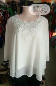 Lacey White Top For Ladies | Clothing for sale in Lagos State, Ajah