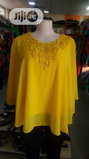 Yellow Lacey Top for Ladies | Clothing for sale in Lagos State, Ajah