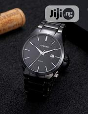 CURREN Men's Watches Classic Black/Silver Steel Band Quartz | Watches for sale in Lagos State, Lekki Phase 1