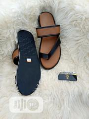 Brown Leather Slippers.   Shoes for sale in Lagos State, Lagos Mainland