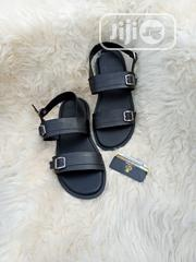 Black Leather Sandal. | Shoes for sale in Lagos State, Lagos Mainland
