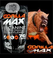 Gorilla Max High Performance Muscle Builder Supplement For Dog Puppy | Pet's Accessories for sale in Lagos State, Orile