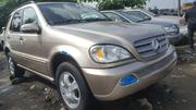 Mercedes-Benz M Class 2003 Gold   Cars for sale in Lagos State, Apapa