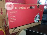 Brand New LG 49inch LED Smart TV 49UK6400 Smart Energy Saving +Bracket | TV & DVD Equipment for sale in Lagos State, Ojo