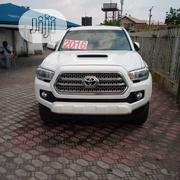 Toyota Tacoma 4dr Double Cab 2016 White | Cars for sale in Lagos State, Amuwo-Odofin
