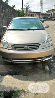 Toyota Corolla 2004 Sedan Automatic Gold | Cars for sale in Lagos State, Surulere