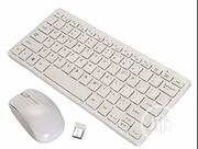 Wireless Mini Keyboard And Mouse - White | Computer Accessories  for sale in Lagos State, Ikeja