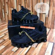 """Nike Shox Cdg """"Triple Black"""" Sneakers   Shoes for sale in Lagos State, Surulere"""