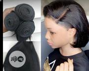 """Peruvian Single Drawn Human Hair 8"""" 