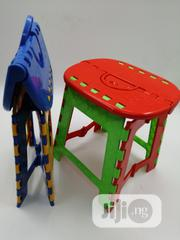 Plastic Foldable Stool   Children's Furniture for sale in Lagos State, Ikeja