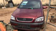 Opel Zafira 2002 Red | Cars for sale in Lagos State, Ikotun/Igando