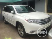 Toyota Highlander Limited 3.5l 4WD 2013 White | Cars for sale in Lagos State, Ikeja