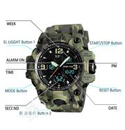 Men's Analog Sports Watch, LED Military Wrist Watch Water Proof | Watches for sale in Oyo State, Egbeda