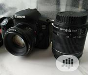 UK USED Canon 700D + 18 - 55mm Lens | Accessories & Supplies for Electronics for sale in Lagos State, Ikorodu