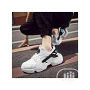Men Trendy Sneakers Summer New Casual Shoes-Black and White | Shoes for sale in Ogun State, Ado-Odo/Ota