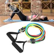 Resistance Rope Resistance Band Loophole Tube 5 In 1 | Sports Equipment for sale in Lagos State, Ikoyi