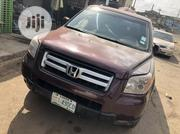 Honda Pilot 2008 EX 4x2 (3.5L 6cyl 5A) Brown | Cars for sale in Lagos State, Ikeja