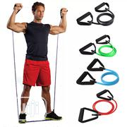 Resistance Band Resistance Rope Tubes Elastic Band | Sports Equipment for sale in Lagos State, Victoria Island