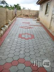 Concrete Stamp Floor Finish   Landscaping & Gardening Services for sale in Lagos State