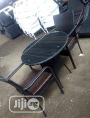 Rattan Chair With Genuine Leather | Furniture for sale in Lagos State, Ojo