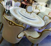 Royal Round Dinning Table By 6 Chairs | Furniture for sale in Lagos State, Victoria Island