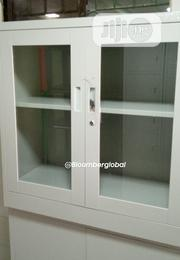 Metal Glass Cabinet 3ft Height   Furniture for sale in Lagos State, Ojo