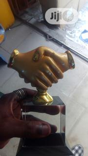 Hand Shake Award Crystal | Arts & Crafts for sale in Lagos State, Magodo