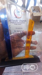 Acrylic Award With Printing | Arts & Crafts for sale in Lagos State, Agboyi/Ketu