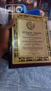 Wooden Plaque Award | Arts & Crafts for sale in Lagos State, Agboyi/Ketu
