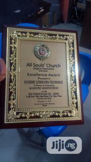 Presentable Wooden Plaque Award | Arts & Crafts for sale in Lagos State, Ojota