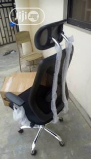 Executive Office Chair (Lumber Support & Cushion Head Rest) | Furniture for sale in Abuja (FCT) State, Gwagwalada