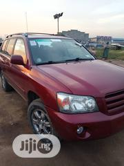 Toyota Highlander Limited V6 4x4 2004 Red | Cars for sale in Lagos State, Isolo
