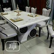 6 Sitter White Dining Table | Furniture for sale in Lagos State, Ojo
