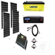 Complete Home Solar Kit 1.2KVA Inverter - 400watts Panels + Battery   Solar Energy for sale in Lagos State, Victoria Island