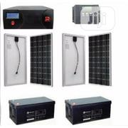 2.4kva Solar Kit + 200amps Batteries + 4 Of 250watts Solar Panels   Solar Energy for sale in Lagos State, Victoria Island