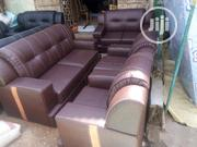 Sofa Chair Complete 7 Seater With High Quality Leather | Furniture for sale in Lagos State, Oshodi-Isolo