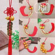 1pcs Red Chinese Knot Copper Coins Keychain Lucky Charm | Jewelry for sale in Lagos State, Agege