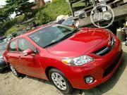 Toyota Corolla 2010 Red   Cars for sale in Lagos State, Apapa