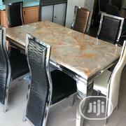 Brilliant Marble Top Dining Table Set | Furniture for sale in Lagos State, Magodo