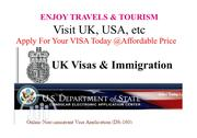 Apply For UK And USA Visas   Travel Agents & Tours for sale in Abuja (FCT) State, Maitama
