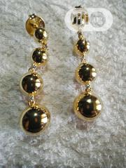 Bruna18k Gold Ball Earring Bb2705 | Jewelry for sale in Lagos State, Ikeja