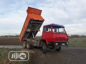 Foreign Used Steyr Tipper Truck Double Axle With Good Tyres 1190