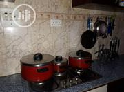 3 None Sticking Pots, Plates,Spoons,Glasses,Plate Holder | Kitchen & Dining for sale in Abuja (FCT) State, Central Business District