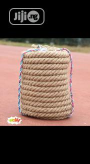 Durable Tug-of-war Rope Multi-purpose Skidproof Twisted Linen Rope | Sports Equipment for sale in Lagos State, Ikoyi