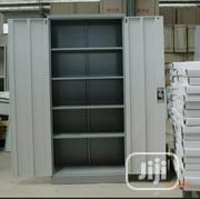 Brand New Imported Double Doors Metal Book Shelves With Key's | Furniture for sale in Lagos State, Lagos Mainland