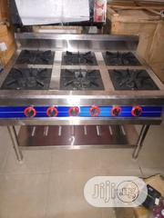 6 Burners Gas Cooker Without Oven | Restaurant & Catering Equipment for sale in Lagos State, Ojo