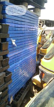 Blue Stackable Plastic Pallets | Building Materials for sale in Lagos State, Agege